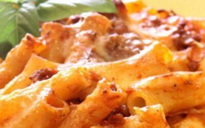 Pasta 'ncaciata alla siciliana